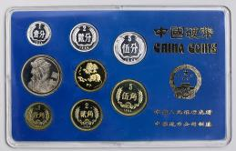 中華人民共和国 People's Republic of China Proof Set 1984 オリジナルケース付き with original case UNC