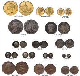 GREAT BRITAIN Victoria ヴィクトリア(1837~1901) Proof Set 1839 オリジナルケース付き with original case