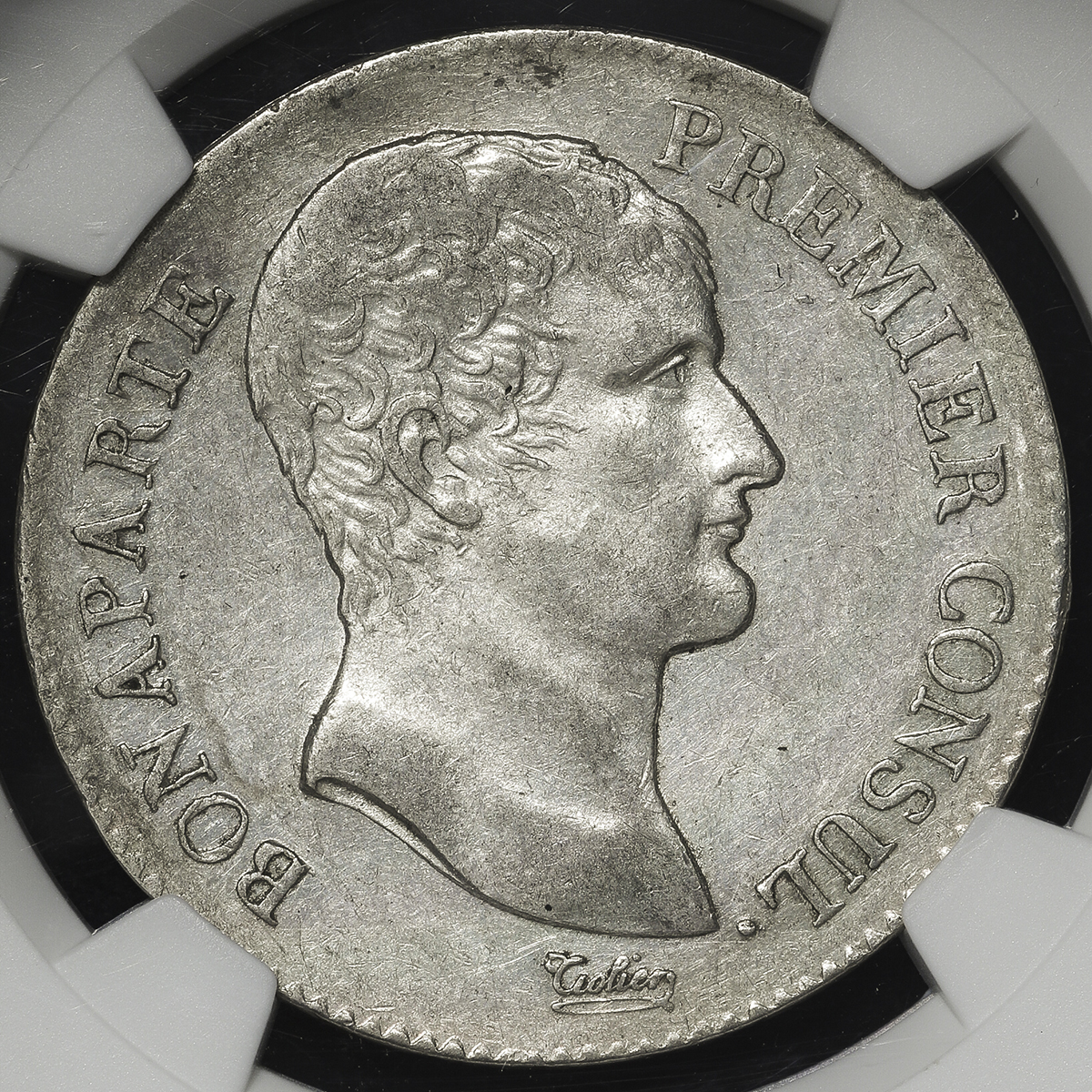 Coin Museum | FRANCE Napoleon I ナポレオン1世(1802~15) 5Francs AN ...