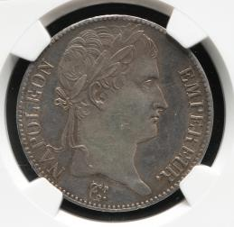 "FRANCE Napoleon I ナポレオン1世(1802~15) 5Francs 1815A NGC-UNC Details""Cleaned"""